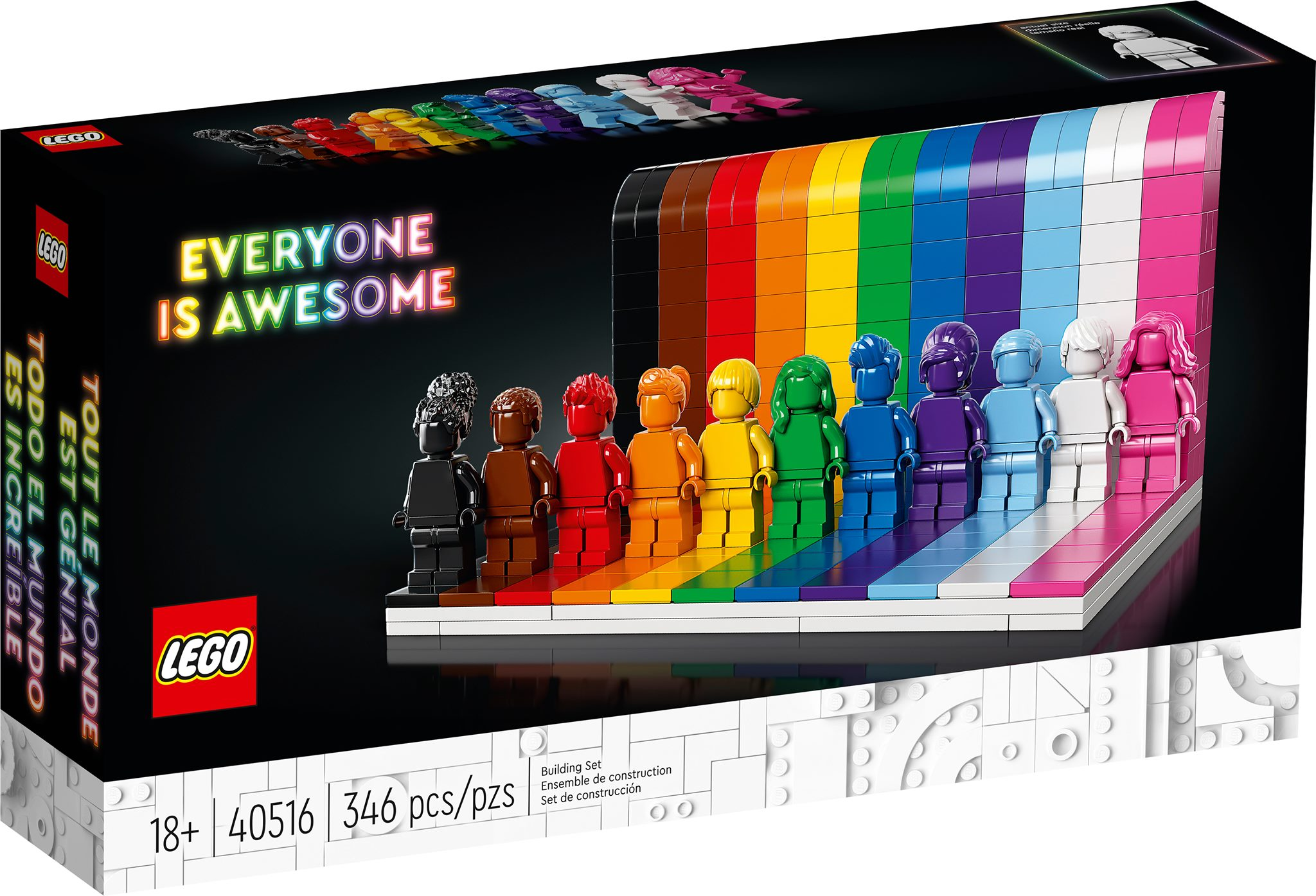 Disponibile il set LEGO® 40516 Everyone is Awesome
