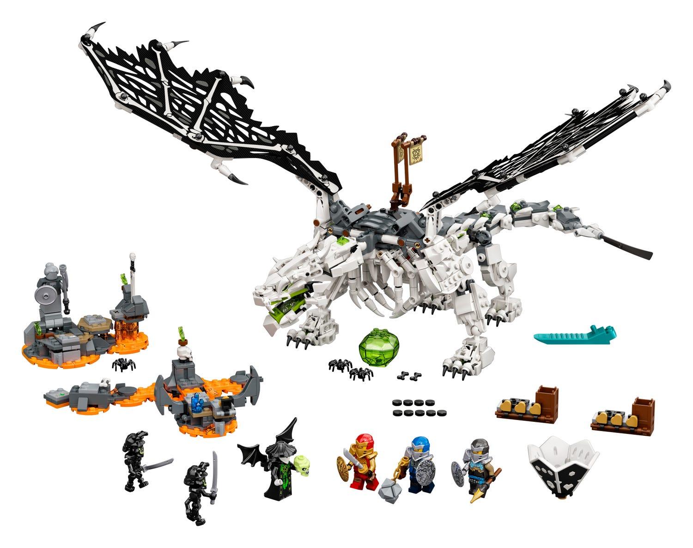 LEGO® Ninjago 71721 – Il Drago dello Stregone Teschio