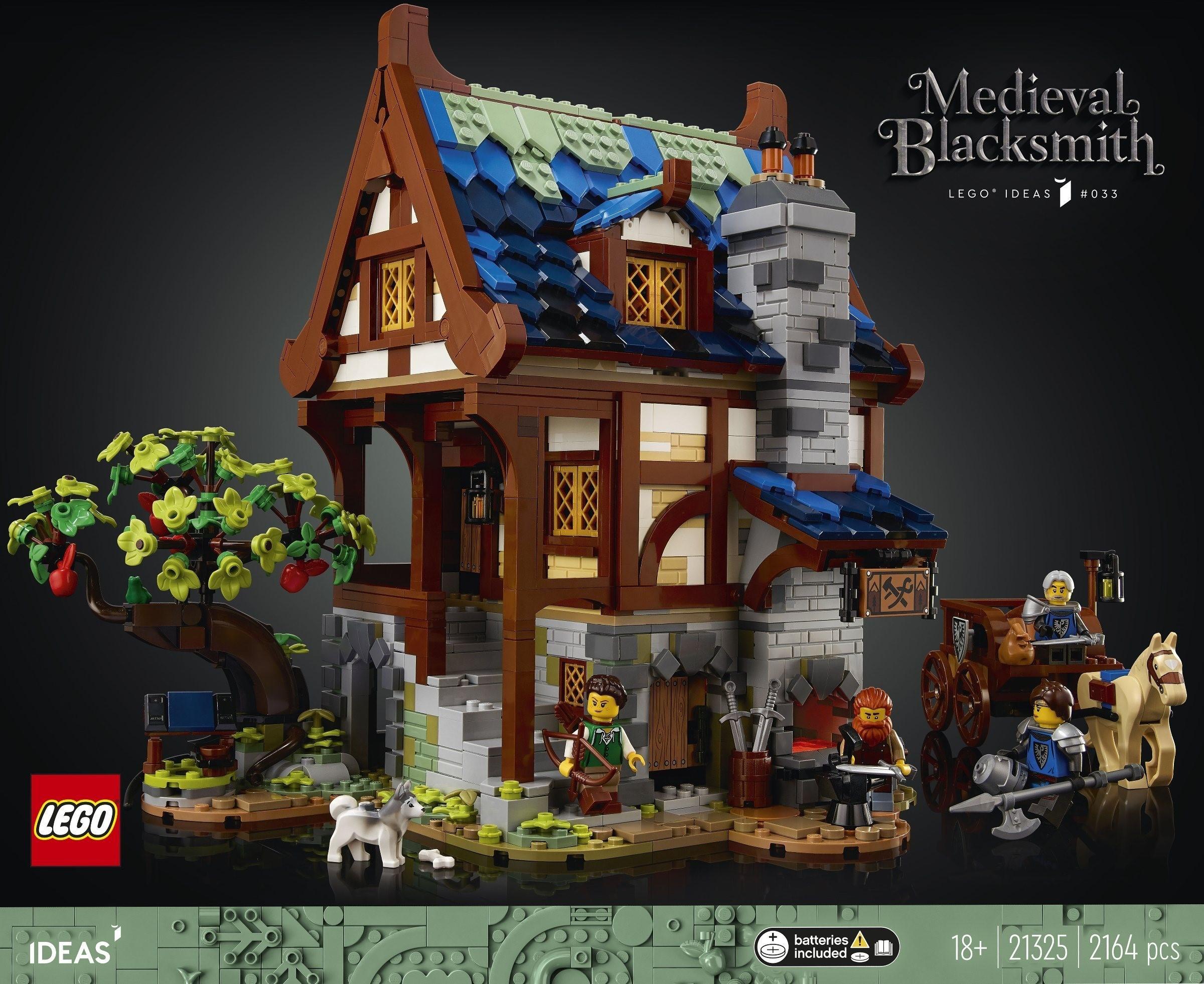 LEGO® Ideas 21325 – Medieval Blacksmith