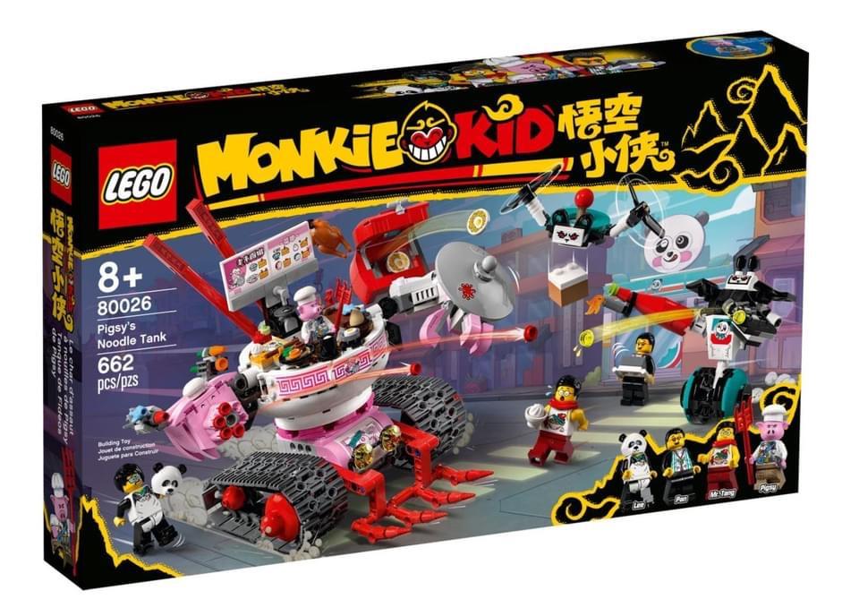 Tre nuovi set della serie Monkie Kid™ in arrivo