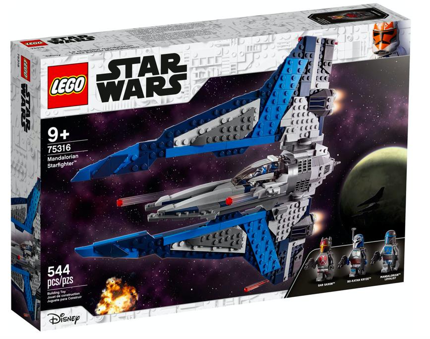Nuovo set di Star Wars in arrivo: LEGO® Mandalorian Starfighter (75316)