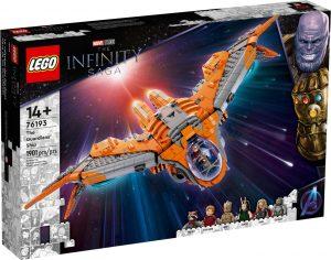 Nuovi set LEGO® Marvel – Infinity Saga