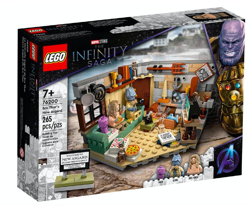 LEGO® 76200 – Bro Thor's New Asgard