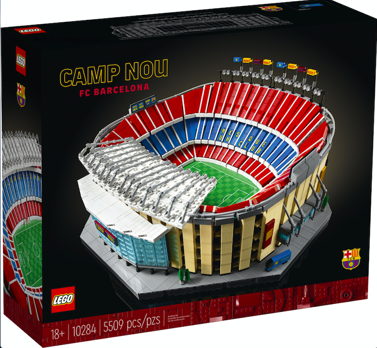 10284 – LEGO® Barcelona FC Camp Nou