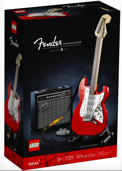 21329 – LEGO® Ideas Fender® Stratocaster™