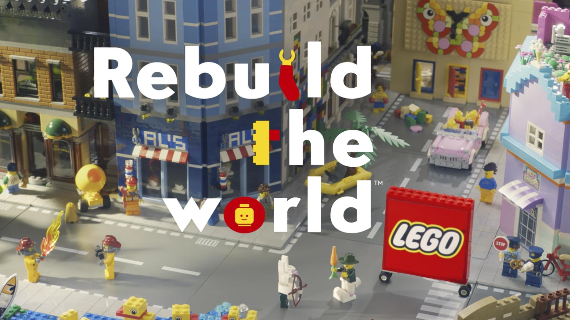 Rebuild the world: il nuovo spot
