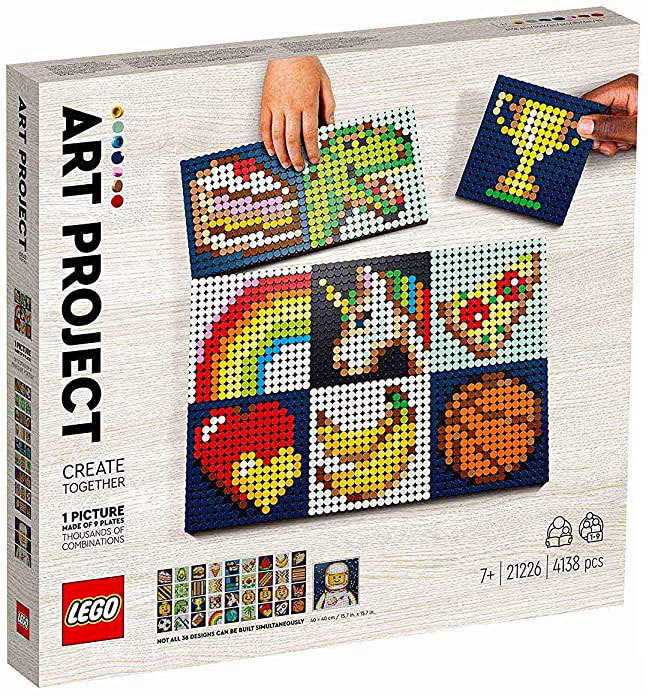 21226 – LEGO® Art Project: Create Together