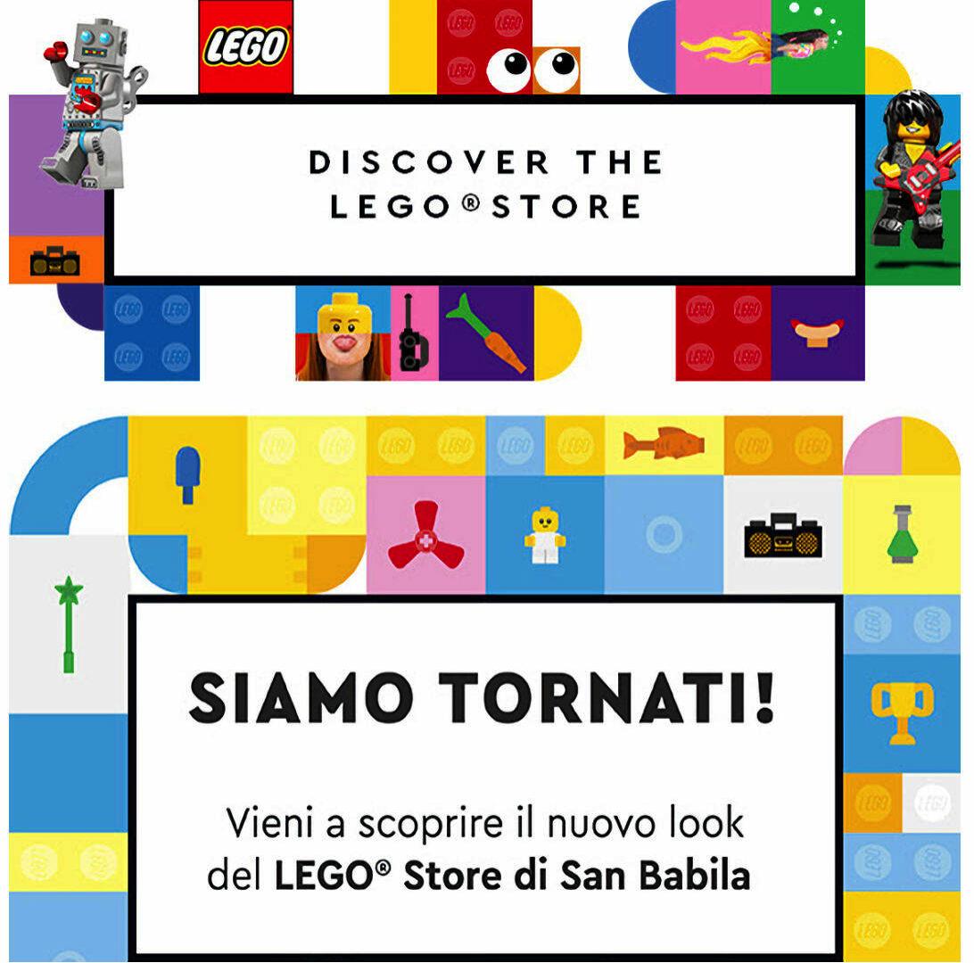 Il LEGO Certified Store di Milano riapre completamente rinnovato